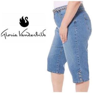 Gloria Vanderbilt Amanda Jean Capris Plus Size 24W